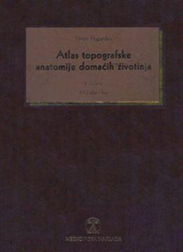 Picture of ATLAS TOPOGRAFSKE ANATOMIJE DOMAĆIH ŽIVOTINJA