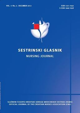 Picture of SESTRINSKI GLASNIK / NURSING JOURNAL