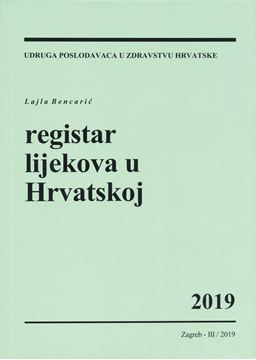 Picture of REGISTAR LIJEKOVA U HRVATSKOJ 2019.